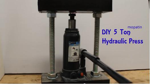 Homemade Five Ton Hydraulic Press