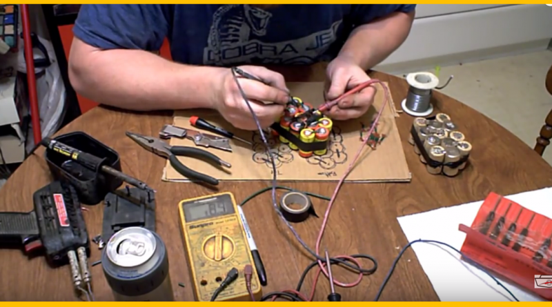 rebuild your dead cordless drill battery pack for cheap or repair