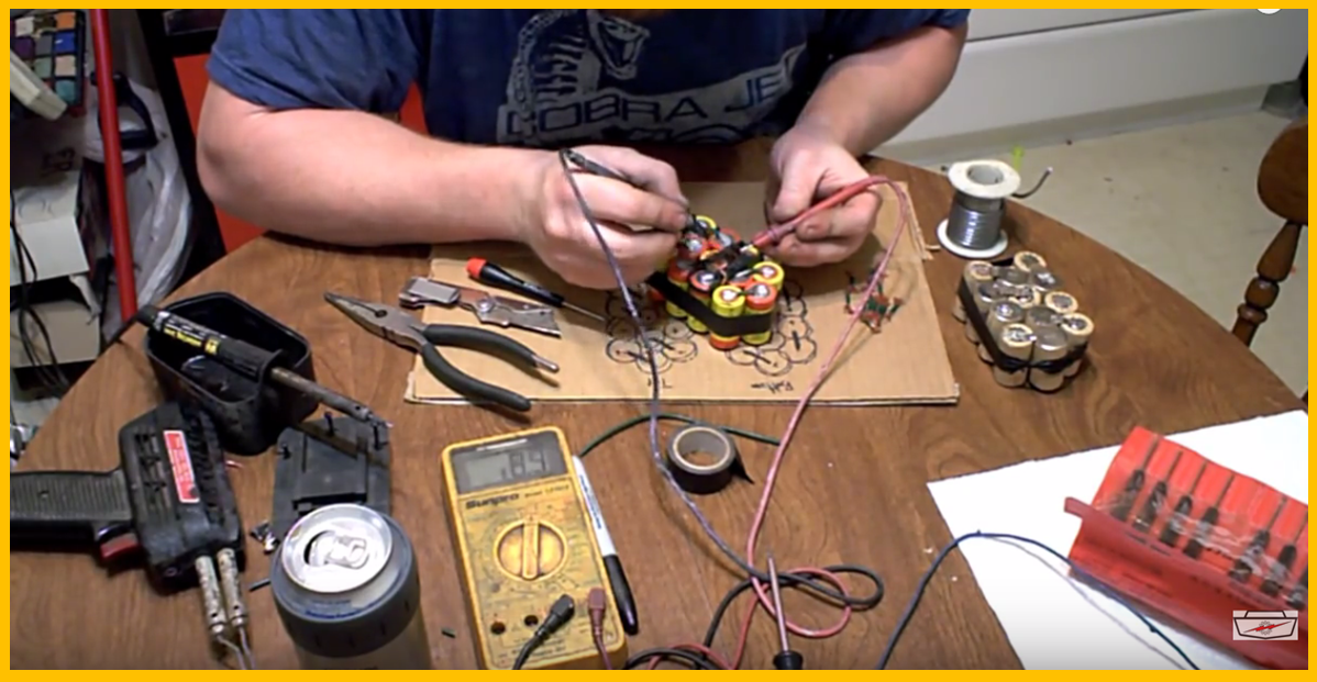 Rebuild Your Dead Cordless Drill Battery Pack For Cheap Or Repair It For Free Brilliant Diy