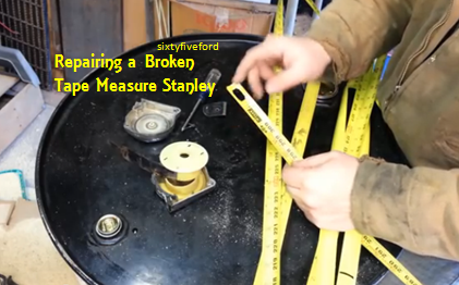 Video How To Repair A Broken Tape Measure Its Almost Like New