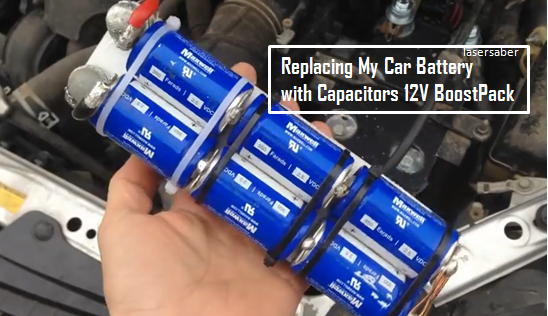 Video Changing Car Battery Into Low Cost And Lightweight Capacitors
