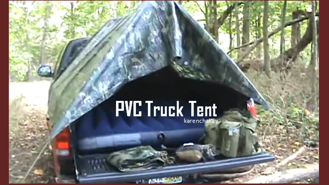 Make A Pvc Tent For Your Truck It Can Use All Sorts Of