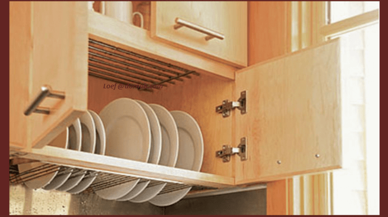 Bottomless Dish Draining Closet, An Ingenious Storage Solution.
