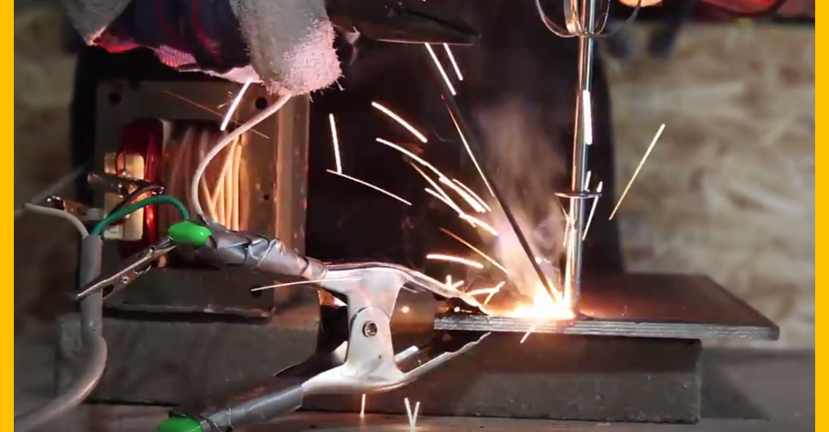 how to make a homemade arc welder