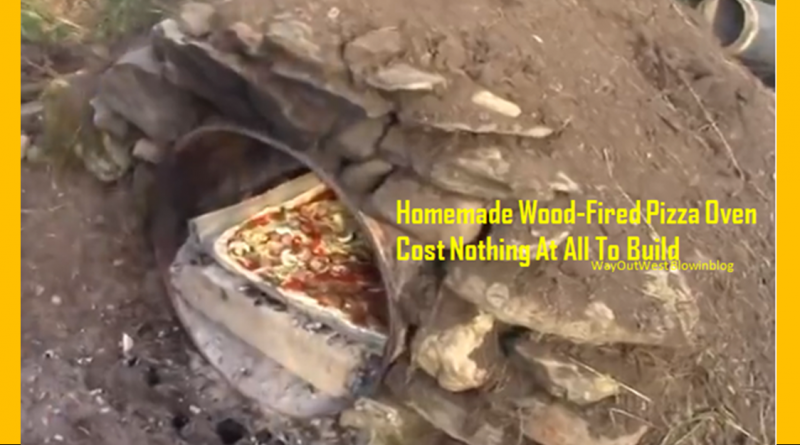 how to build a homemade wood fired pizza oven