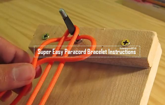 paracord survival bracelet instructions