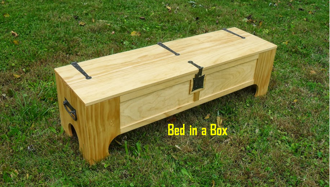 Space Saving Bed In A Box! Try Putting One Together And See How Much Space You'll Save!