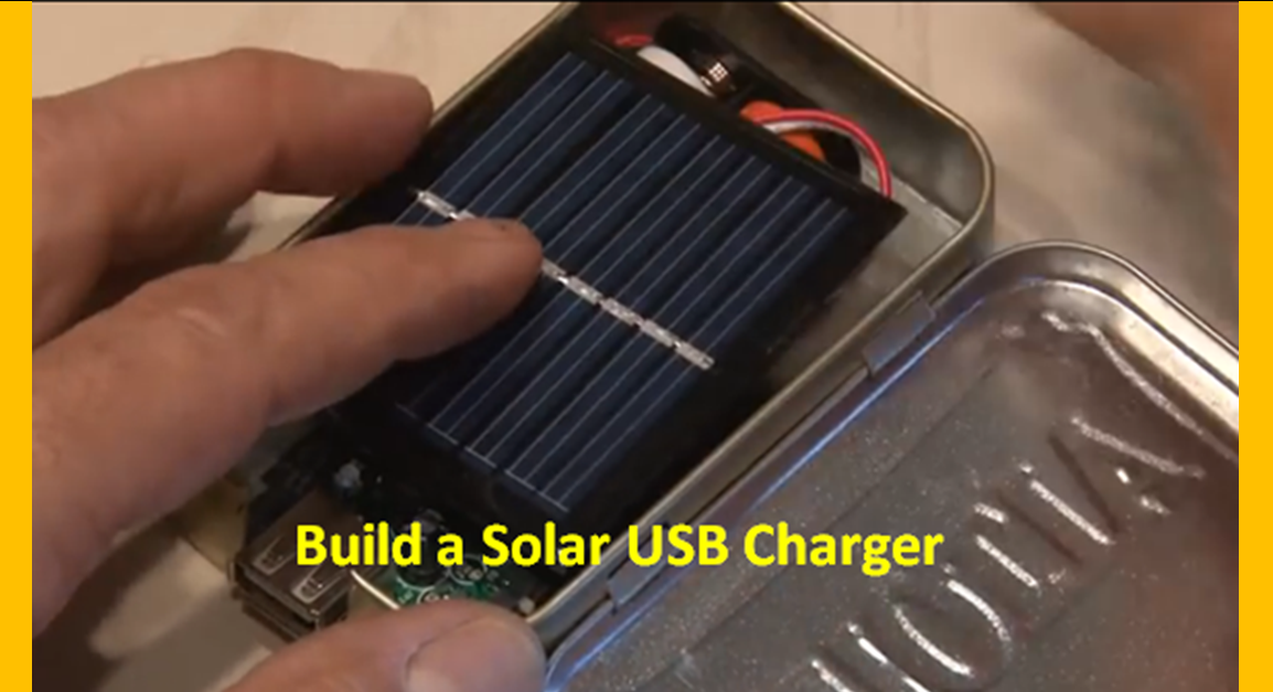 Video Diy Making A Pocket Size Solar Usb Charger