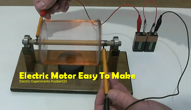 Video Building A Simple Electric Motor A Remarkable Introduction Into The World Of Mechanics