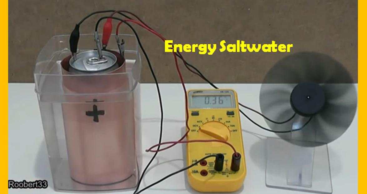 salt water battery