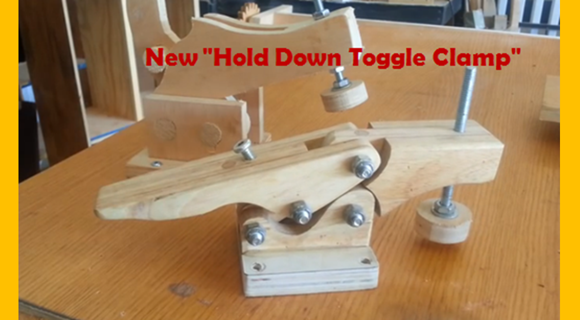 Video Diy Toggle Clamp Miniature One That Is