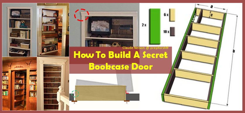 Gentil Some Excellent Guidelines On How To Make A Secret Bookcase Door To Avoid  Looters And Other Threatening Situations.   BRILLIANT DIY