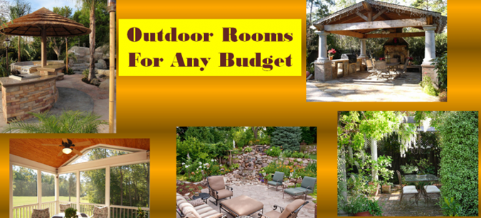 Outdoor Room Ideas outdoor room ideas for any budget make extra space to entertain or