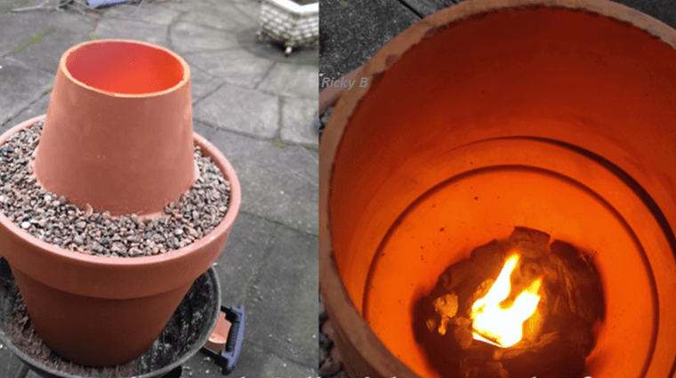 Making a DIY Tandoor oven – very cheap