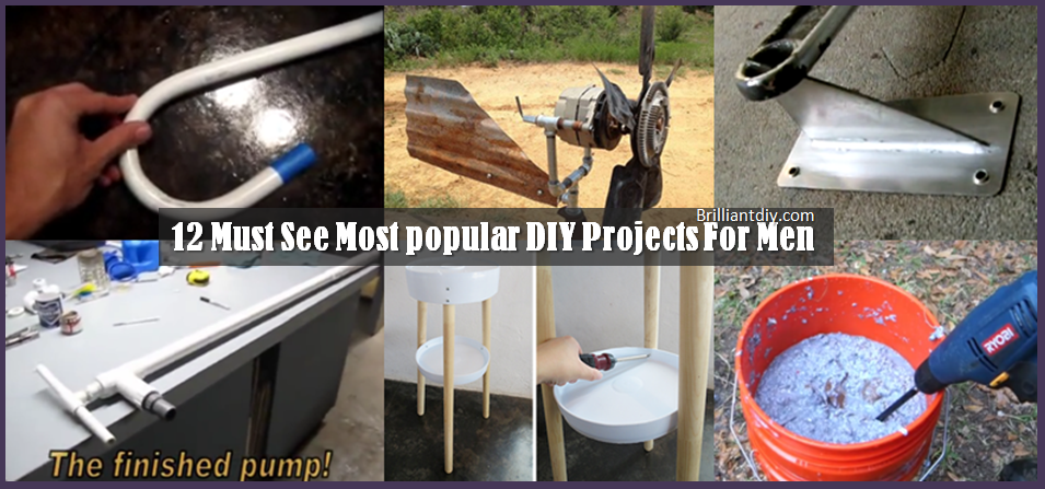 12 must see most popular diy projects for men brilliant diy for Most popular diy crafts