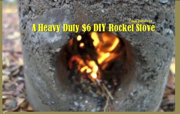 Video how to make a simple and easy heavy duty bio mass for Heavy duty rocket stove