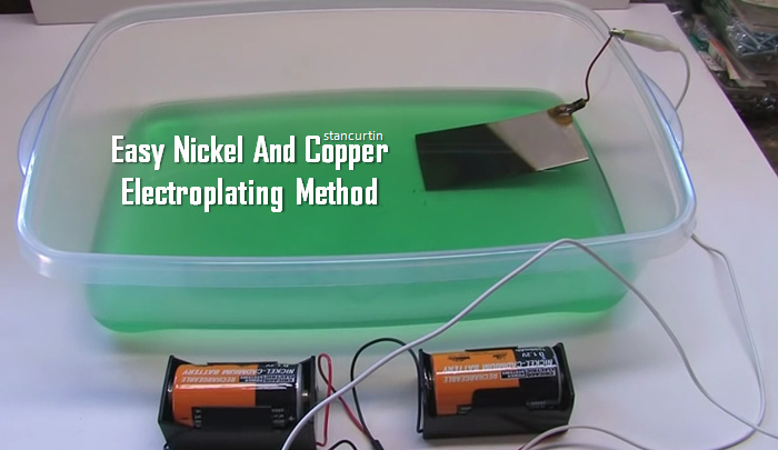 Video the cheap and safe method of nickel and copper electroplating video the cheap and safe method of nickel and copper electroplating brilliant diy solutioingenieria Choice Image