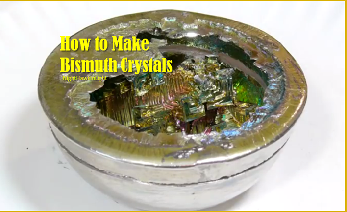 Making Your Own Bismuth Crystals Might Sound Glamorous, This Science DIY Is Shiny And Delightful ...