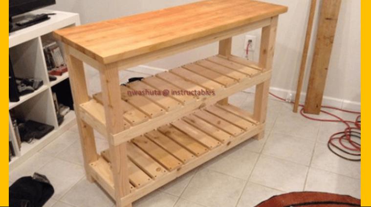 Diy Kitchen Island Woodworking Plans
