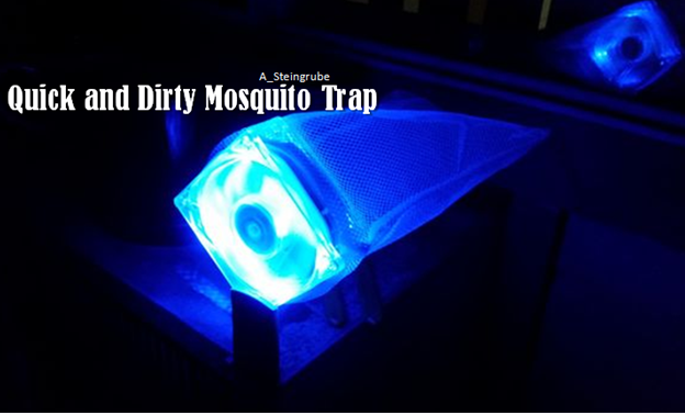A Quick And Dirty Mosquito Trap Using General Household