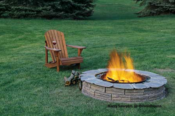 fire pit instructions to build