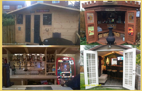 Pub-Sheds\': Think This Is Just A Normal Shed? - BRILLIANT DIY