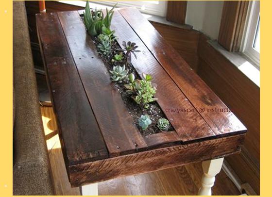 Pallet_succulent_side_table