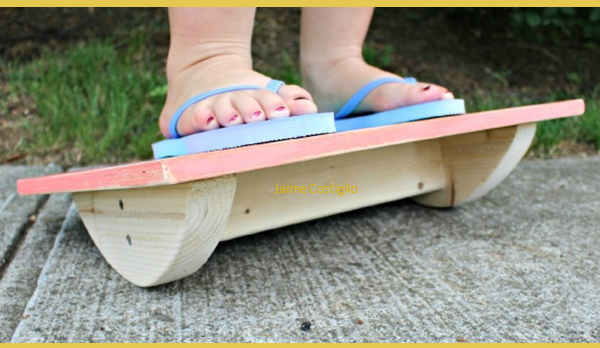 Diy Balance Boards To Keep Your Kids Busy Brilliant Diy