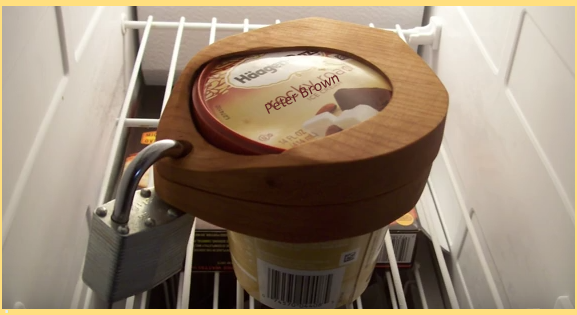 Video hate ice cream thieves keep them away by making this diy ice cream pint lock - How to keep thieves away from your home ...