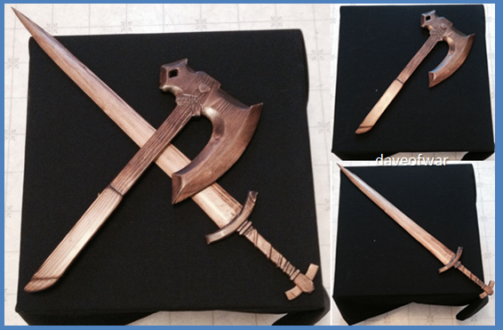 You don t have to be a dragonborn make these diy wood