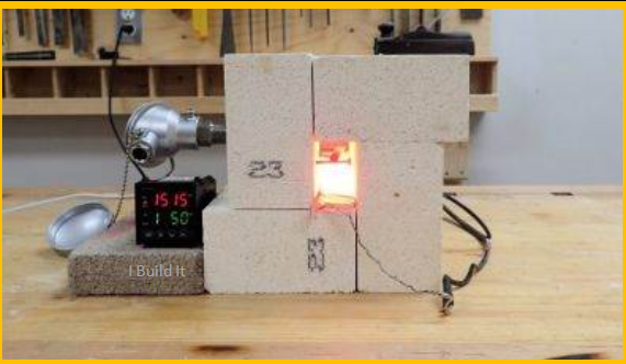 Video Mini Forge Heat Treat Oven Experiment Brilliant Diy