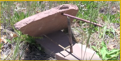how to make a deadfall trap