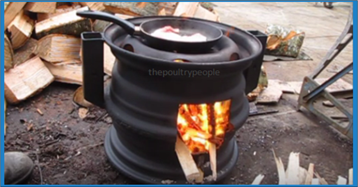 [Video] Cook Your Meals Outdoors Or Just Keep Warm With This DIY Wood Stove  Made From Old Car Rims! - DIY Wood Stove Made From Car Wheels! Archives - BRILLIANT DIY