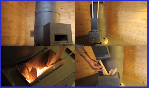 [Video] Keep Any Room in Your Home Warm during the Cold Months by Building This DIY Rocket Stove. - BRILLIANT DIY