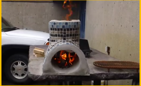 Video make your own small rocket stove for cooking for Build your own rocket stove