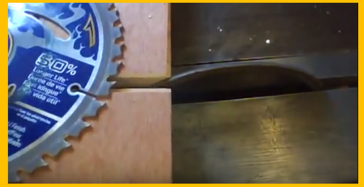 Video a simple and cost effective technique for for 12 table saw blades