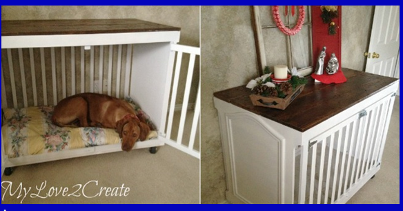 Give Your Pet A Home By Turning This Baby Crib Into An