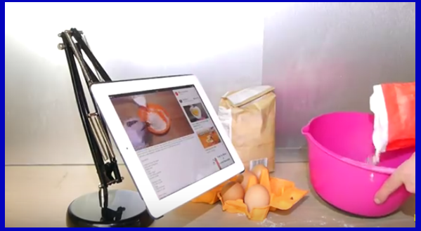 [Video] Make Your Own Swinging iPad Stand