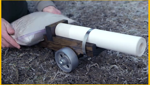 how to make a paper cannon