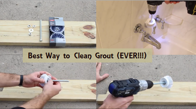 Best way to clean shower grout lines for Best way to clean bathroom