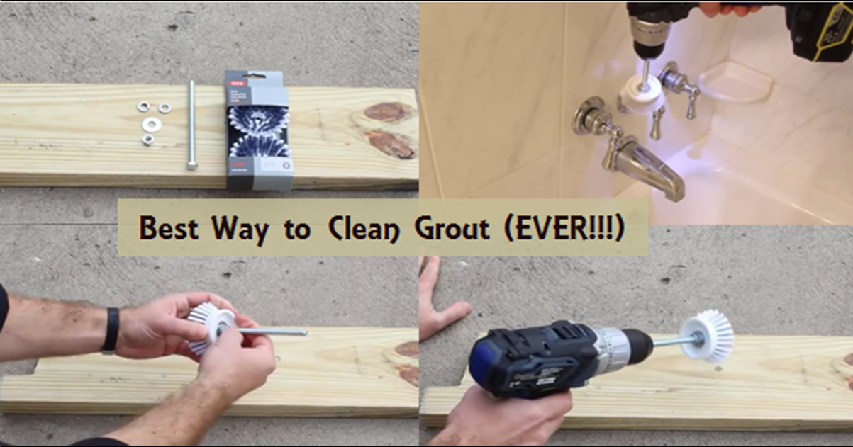 diy video build a grout busting drill the best way to