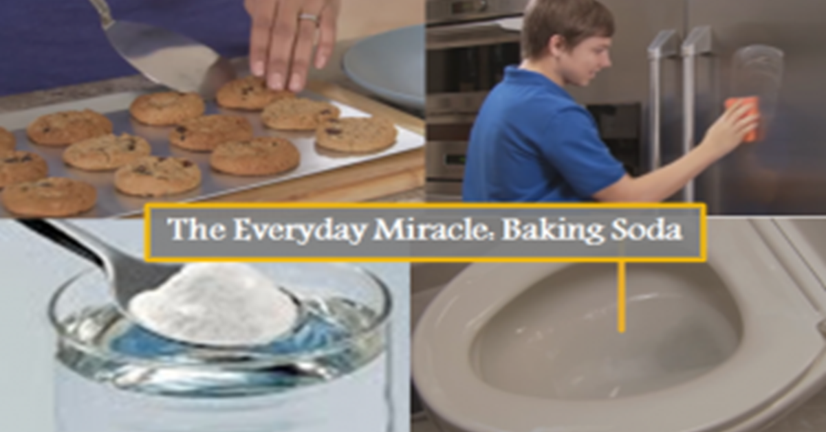 Videos the everyday miracle 4 things you need to know about baking soda don 39 t miss video 4 for What does baking soda do to swimming pool water