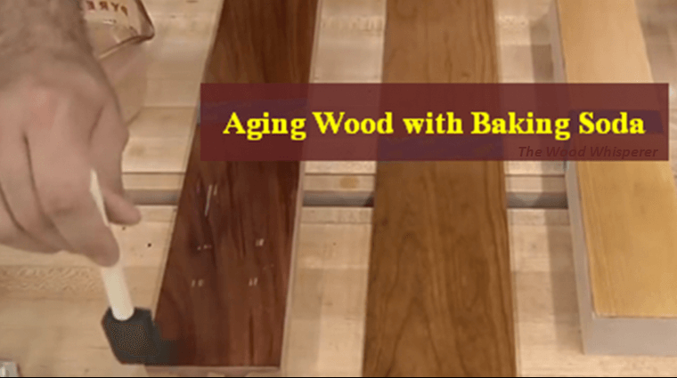 Color Wood Using Baking Soda