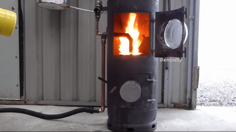 DIY High Efficiency, High Output Waste Oil Burner, Easy And Cheap To ...