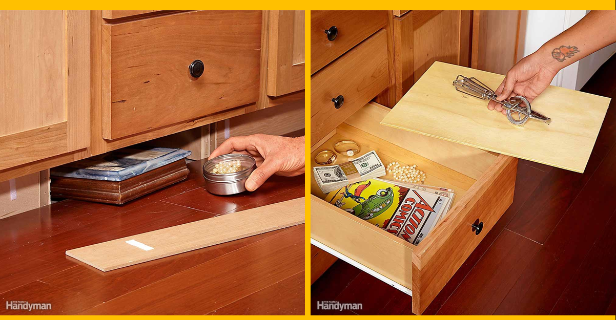 13 Clever Secret Hiding Places Diy Household Hacks On How