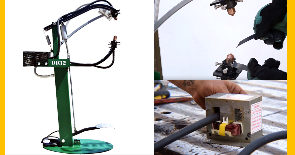 how to make a spot welder at home