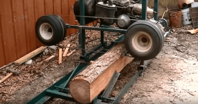 home_made_sawmill_from_a_old_golf_cart