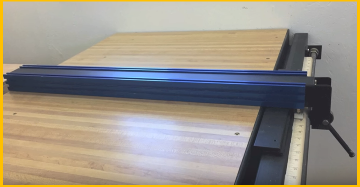 Video building an incremental table saw fence made easy brilliant diy Table saw fence
