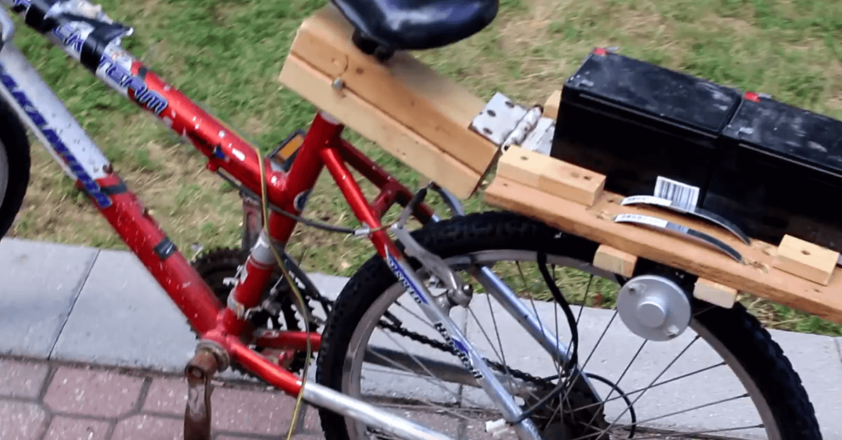 Video Jazz Up Your Boring Old Bike With The Power Of