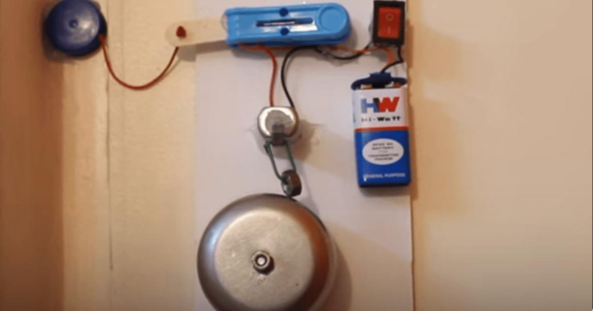 how to make fridge door detector alarm
